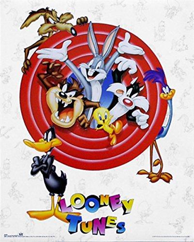 looney-tunes-bugs-bunny-friends-toma-de-grupo-artistica-di-stampa-4064-x-5080-cm