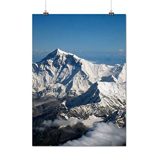 mountain-beautiful-nature-snow-rock-matte-glossy-poster-a2-60cm-x-42cm-wellcoda