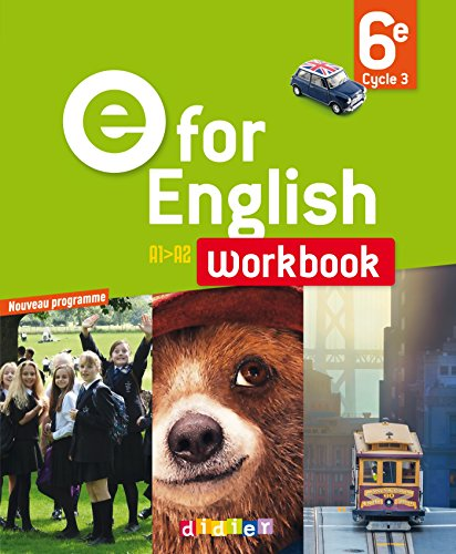 E for English 6e - Workbook - version papier par Virginie Bordat