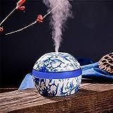 TAOtTAO Diffuseur d'air en Porcelaine Bleu et Blanc, A 110x110x85mm, Approx.10.9x9.8cm