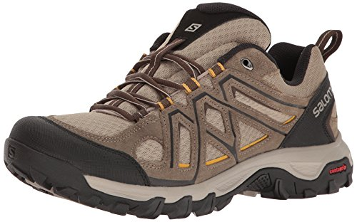 Salomon Evasion 2 Aero, Scarpe da Hiking Uomo, Marrone (Vintage Kaki/Bungee Cord/Honey), 42 2/3 EU