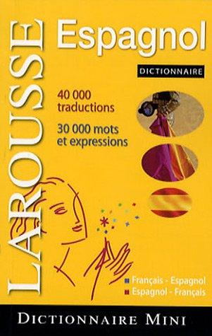 Mini dictionnaire Français-Espagnol/Espagnol-Français