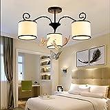 Un Juego de candelabros–- LED Moderno Fácil Salón, comedor, Dormitorio, mariposa, Araña de cristal (No la fuente de luz einschließen)