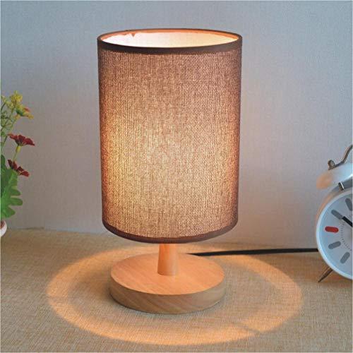 Lámpara de mesita de noche literaria creativa lámpara de luz tenue ...