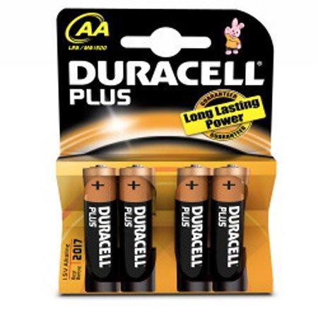 Preisvergleich Produktbild Duracell Batterie Duracell Plus - AA (MN1500/LR6) Mignon 4St. [Babyartikel]