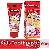 Colgate Toothpaste Kids Barbie Strawberry Flavor - 80 g (Children)