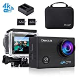 Action Cam,Deecam Action Cam 4K Ultra HD 16 MP Action Kamera WIFI Unterwasserkamera mit Ladegerät...