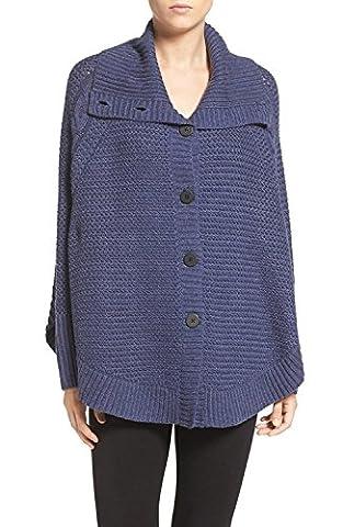 UGG Maribeth Cardigan Sweater (XS/S, Navy Heather)