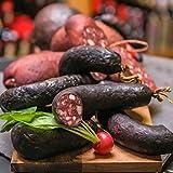 Blutwurst | Köhler Rotwurst | mild geräucherte Schwarzwurst | Griebenwurst | frische, magere Rotwurst vom Harzer Traditionsfleischer | besonderer, einzigartiger Geschmack | kalt und warm ein Genuss