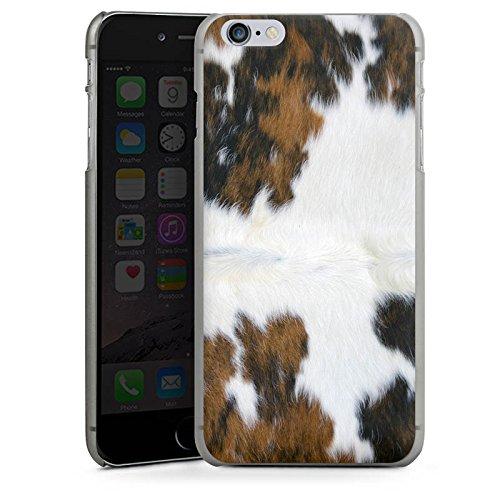 Apple iPhone 5s Housse Outdoor Étui militaire Coque Peau de vache Vache Look CasDur anthracite clair