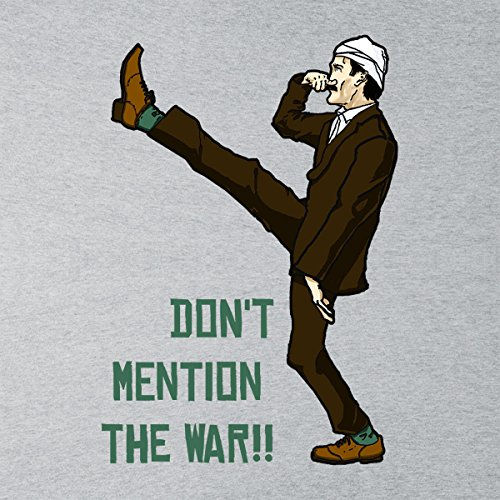 Fawlty Towers Dont Mention The War Men's Vest Heather Grey