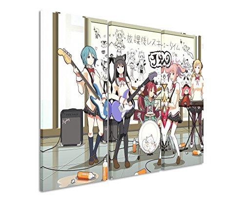 Lienzo 3piezas Anime _ Music _ banda _ 3x 90x...