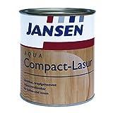 JANSEN Aqua Compact-Lasur Dickschichtlasur für Holz 375ml palisander