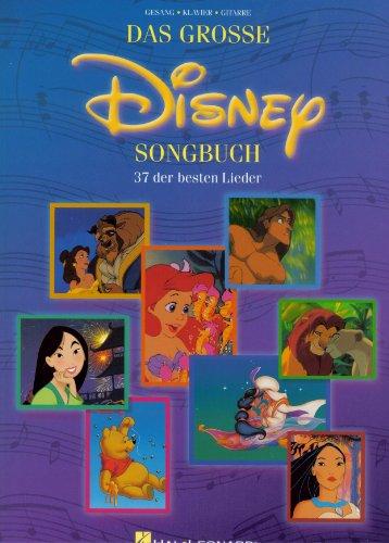 Das Grosse Disney Songbuch - Noten Songbook [Musiknoten] (Disney Piano Songbook)