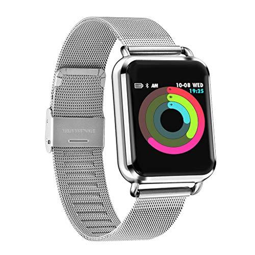 Haludock Herzfrequenzmesser Tracker, Fitness-Tracker, IP67 wasserdicht Aktivität Tracker Watch, mehrsprachige Smart Armband Aktivität Tracker Bluetooth-Schrittzähler mit Schlaf-Monitor Smartwatch