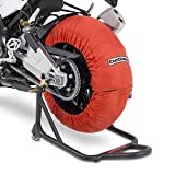 Motorrad Reifenwärmer ConStands Orange Superbike 60-80 °C Set