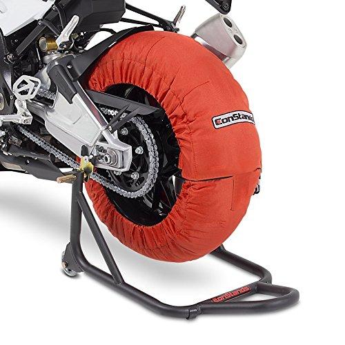 Calentadores de neumáticos Set 60-80 C Naranja para Honda CBR 1000 RR...