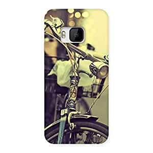 Vintage Bycycle Back Case Cover for HTC One M9
