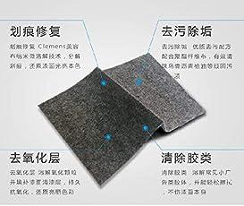 Winbang Entfernen von Kratzern, Polyester-Gewebe Kratzer-Reparaturtuch für leichte Lacke, Kratzer, Tuch und Oberflächenabnutzung, Fix Care Zubehör