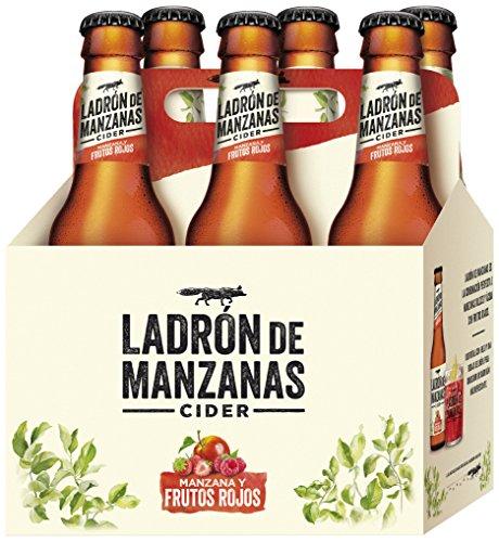Apple Thief Red Berries Cider -Packs of 6 Bottles x 250 ml - Total: 1.5 L