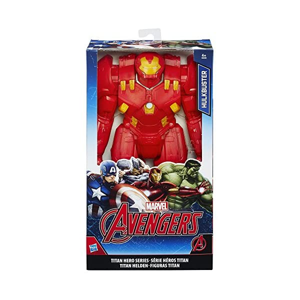 Marvel Avengers - Figura Hulkbuster, 30 cm (Hasbro B6496EU4) 2