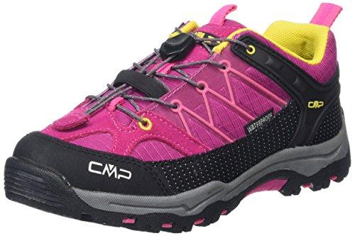 C.P.M. Rigel, Chaussures de randonnée garçon Rose - Pink (Scarlet H431)