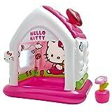 (Rif. A48631NP/EP) Casetta gonfiabile Hello kitty. Dimensioni 137 X 109 X h 122 cm. Anni 3-6