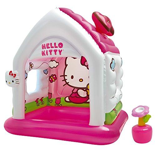 Intex 48631NP Hello Kitty Fun Cottage, 137 x 109 x 122 cm (Paar Kitty Lustig Spiele)