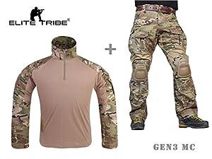 Airsoft militaire tactique costume Combat Gen3 uniforme Chemise Pantalon Multicam
