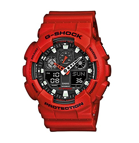 Casio-G-Shock--Mens-AnalogueDigital-Watch-with-Resin-Strap--GA-100B