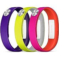 Sony SWR110 Cinturino da Polso Smartband SWR10 - Small, Viola, Giallo, Rosa