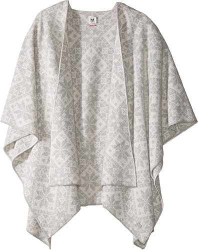 Dale of Norway Damen Rose Shawl Light Charcoal
