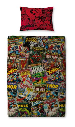 Character World Disney Marvel Comics - Juego Cama