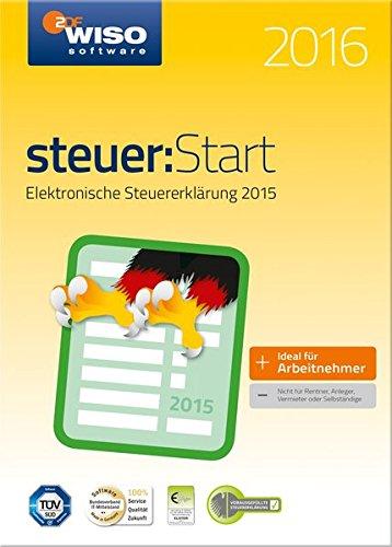 WISO steuer:Start 2016 (für Steuerjahr 2015) (Kinder Software)