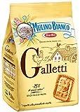 Mulino Bianco - Biscotti Galletti, Frollini - 2 confezioni da 800 g [1600 g]