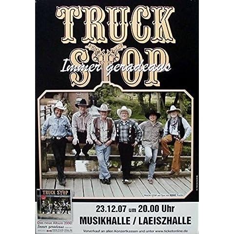 TRUCK STOP - 2007 - concerto Poster - sempre dritto - Tour Poster - Amburgo