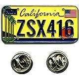 California sacramento californie uSA panneau humoristique badge pin écussons 0642