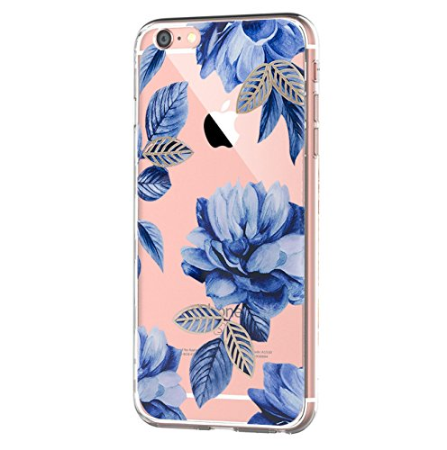 Vanki iPhone 6 hülle iPhone 6s hülle Tasten Fonts Schutzhülle Clear Case Cover Bumper Anti-Scratch TPU Silikon Durchsichtig Handyhülle für iPhone 6 Plus/6s Plus (Apple iPhone 6 Plus/6s Plus, 2)