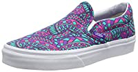Vans Classic Slip-On, Unisex Adults' Low-Top Sneakers, Multicoloured, 6 UK