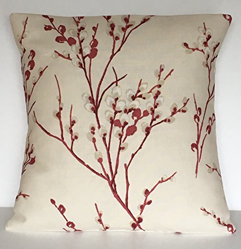 1-x-16-handmade-laura-ashley-pussy-willow-cranberry-cushion-cover
