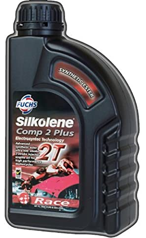 Fuchs Silkolene Comp 2 Plus Fully Synthetic 2 Stroke High Performance Motorcycle Road and Race Engine Oil - 1