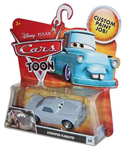 Mattel T4076 Disney Cars Stripped Kabuto - Kabuto Cars