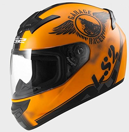 103523251/XS CASCO LS2 FF352 ROOKIE FAN-MATT ORANGE TALLA XS