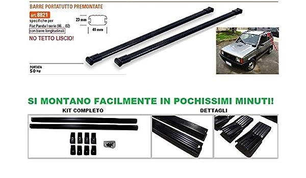 Barre Portatutto Specifiche Fiat Panda 2003/>2011