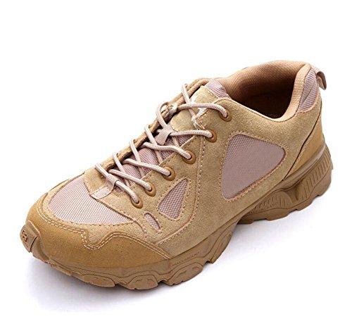 Scarpe da tiro con scarpe da tiro a bassa resistenza scarpe da sera respirabili da scialpinismo Uomo da uomo resistente agli usi Scarpe da trekking all'aperto Beige2