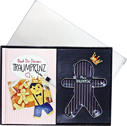 Back Dir Deinen Traummann Backset Geschenke Set Box für Frauen Traumprinz Prinz 14006