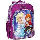 Disney 25123A1 Frozen Keep Calm Mochila Escolar, 19.2 Litros, Color Azul