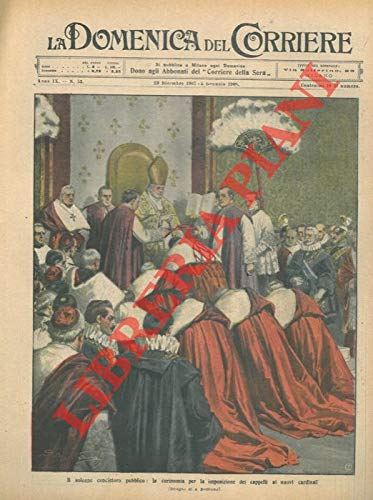 Il solenne concistoro pubblico: la cerimonia per l'imposizione dei cappelli ai nuovi cardinali.