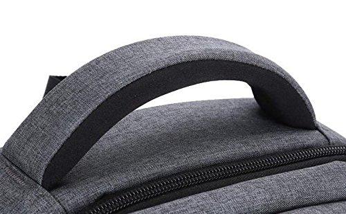 Rucksack Schulterbeutel Männer Geschäft Casual Computer Tasche Reise Student Tasche Einfach Wild Grey