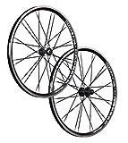Vuelta 26 Zoll Laufradsatz Crosser x II Shimano HB/FH-RM40 schwarz 24 Loch